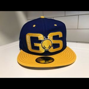 New Era Golden State Warriors HWC Fitted Sz 7 Hat